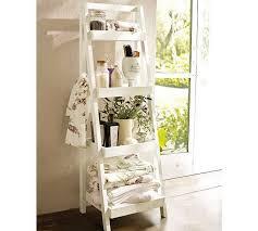 White Shabby Chic Bathroom Ideas by White Wooden Towel Rack For Shabby Chic Bathroom Idea Free