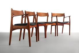 Set Of 4 Teak Dining Chairs By Erik Buch For O.D. Møbler, Denmark Danish Teak Extension Ding Table Style Kitchen Appliances Tips And Review Noden Scdinavian Vintage Fniture Chairs At 1stdibs Modern Teak Ding Chairs Chair Restoration 1960s Set Of 6 La102248 Vintage In By Erik Buch 4 For Od Mbler Denmark Midcentury Leather Niels Otto Mller Roped Ladder Back Mid Century