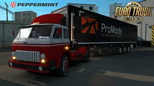 ETS2 Promods 1.32 + RusMap 1.81 Peppermint Trucking #3 (Euro Truck ...