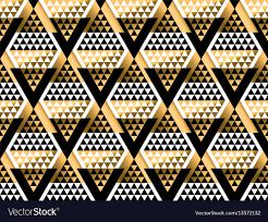 100 Art Deco Shape Triangle Shape Geometric Art Deco Seamless Pattern