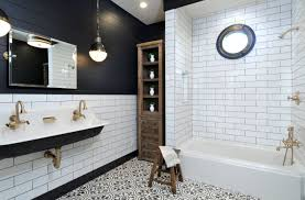 Black And White Bathroom Designs That Show Simple Can Also Be ... White Bathroom Design Ideas Shower For Small Spaces Grey Top Trends 2018 Latest Inspiration 20 That Make You Love It Decor 25 Incredibly Stylish Black And White Bathroom Ideas To Inspire Pictures Tips From Hgtv Better Homes Gardens Black Designs Show Simple Can Also Be Get Inspired With 35 Tile Redesign Modern Bathrooms Gray And