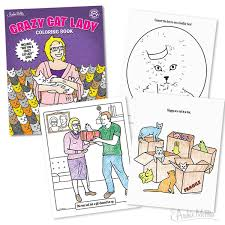 Crazy Cat Lady Coloring Book Pinterest