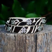 Rustic Cuff Meagan Calfskin Wrap Bracelet