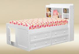 Twin Captains Bed With 6 Drawers by Bedroom Pretty Single Captains Storage Bed With 6 Drawers In