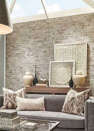 Red And Taupe Living Room Ideas by Best 25 Brick Wallpaper Living Room Ideas On Pinterest Living