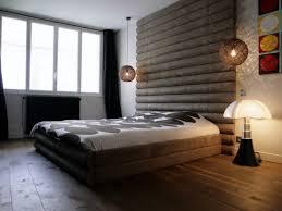 chambre avec tete de lit photos sur le thème tête de lit bois idéesmaison com