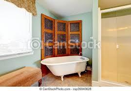 antikes badezimmer bad inneneinrichtung wanne weißes
