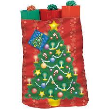 1PK Christmas Tree Giant Gift Bag