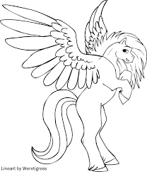 Unicorn Horse Coloring Pages Best Of Wonderful Pegasus