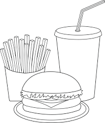Collection Of Black And White High Mcdonald S Logo Png Mcdonalds Clipart Line Drawing