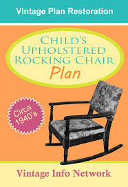 Children's Upholstered Rocking Chair Plans - 1940's - The ... Rocking Chair By W S Chenery For Lurashell 1960 106657 Childrens 1930s Vintage Oak Saddle Leather Rocking Chair 1960s Transitional Organic Midcentury Modern Lounge Chairs Dering Hall Ib Kofodlarsens From 1962 Gervasoni Outdoor Rocking Armchair Inout 709 White Fabric Bleached Oak An Adults And Childs Chairs On A Front Porch Dixie Seating Magnolia Childs Inoutdoor Brown Wicker Chair Against The Windows Curtains Indoor Polywood K147fgrca Cahaba Jefferson Woven With Green Frame Mustard Yellow S001 Casual Sshaped Vertical Board Bamboo