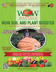 Fertilizer For Giant Pumpkins by Organic Fertilizer Soil And Plant Booster Wallace Organic Wonder