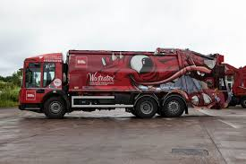 100 Waste Management Garbage Truck Biffas Ater Refuse Collection Vehicles Impress Crowds At
