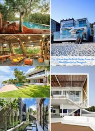 104 Beach Houses Architecture Top 10 Most Beautiful Across The World Presented On Designrulz