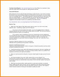 Self Employed Resume Examples Awesome Templates Job Qualifications