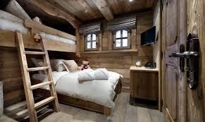 chalet chambre chambre style chalet de montagne d coration int rieur 50 id es