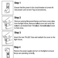 4x g13 4ft 18w 5000k bulb t8 48 led light for fluorescent