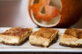 Pumpkin Gingersnap Cheesecake Bars by Pumpkin Cheesecake Bars With Gingersnap Crust The Craving Chronicles