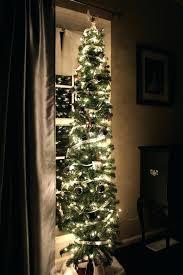 Tall Slim Christmas Tree Skinny Thin Photo Albums Fabulous Homes Interior