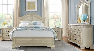 Rooms To Go Queen Bedroom Sets by Cortinella Cream 5 Pc Queen Panel Bedroom Queen Bedroom Sets