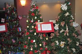 See 17 Christmas Trees From Around The World In Bethlehem Pa