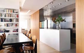 aménagement cuisine salle à manger aménagements cuisine bien utiliser un séparateur de pièce pour la