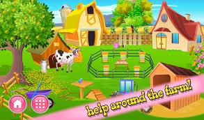 Cartoon Farm House Free Vector Graphic Farm House House Home