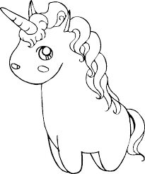 Unicorn Coloring Pages Printable Or Rainbow Cute Realistic