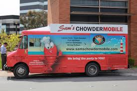 You Can Go Online And Find Out Where The Chowdermobile Will Be ... Two New Box Truck Skinzwraps For City Vending Company Fresh Out Of For Rent The Year A Buck Garbage Simulator Wwwtrubustudiocom Car Branding Limdes Car Pinterest Ice Cube Tour Buswrap Bus Wraps Coloring Pages Movers Image Result Beechdean Ice Cream Vans Van Livery