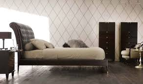 Black Leather Headboard With Diamonds by Double Bed Contemporary With Upholstered Headboard Leather