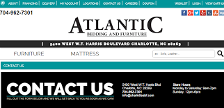 Atlantic Bedding And Furniture Charlotte Nc by Atlantic Bedding And Furniture Stores In Charlotte Nc Atlantic
