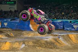 100 Monster Truck Show Miami Jam Watsonville Woman Balances Truck Rallies College Exams