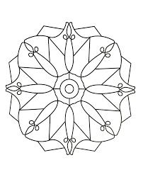 Simple Mandala 85