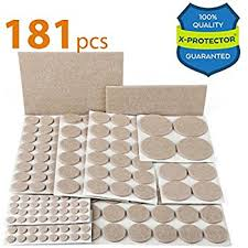 Rubber Furniture Pads For Wood Floors by X Protector Premium Ultra Large Pack Furniture Pads 181 Piece