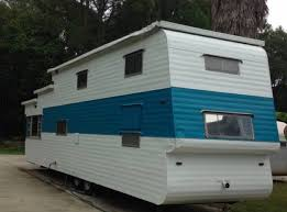 This Is A 1954 Two Story Vintage Travel Trailer For Sale In Panama