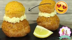 recette religieuse au citron pate a choux inratable