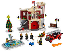 100 Lego Fire Truck Video LEGO Creator Expert Winter Village Station 10263 Now Up