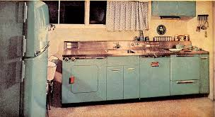 The Other Night I Was Recalling My Aunts Kitchen In 1940s And 50s Her Appliances Were Aqua Accessories Pink