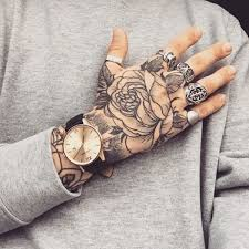 Lovely Flower Hand Tattoo Designs 85 For Floral With