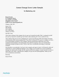 Career Transition Cover Letter Download Examples Good Resume Letters