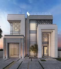 100 Modern Villa Design 500 M Private Villa Kuwait Sarah Sadeq Architects Facade