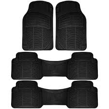 100 Truck Floor Mat OxGord Black 4Piece HeavyDuty 165 In X 50 In SFMPV01E