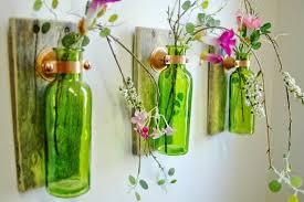 Glass Bottle Craft As A Home Decor