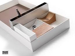 accessoires de bureau design boite de rangement pour fourniture de bureau melbourne by francesc
