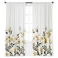 climbing floral window curtain panel threshold target