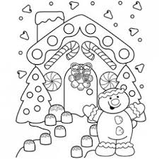Innovation Design Gingerbread Coloring Pages Lane Page