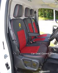 Ford Transit Custom Tailored Seat Covers Car Seat Covers Direct ...