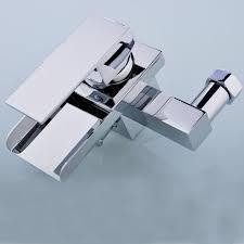 Wall Mounted Waterfall Faucets Bathroom by Lightinthebox Single Handle Wall Mount Centerset Bathroom Vessel