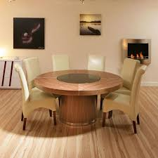 Round Dining Room Set For 6 by Cool Round Dining Table For 6 With Additional Interior Home