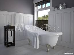 klassisches badezimmer mit dekoration fototapete